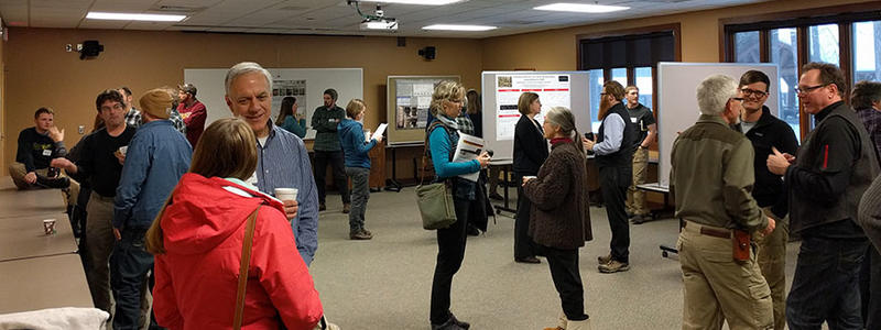 2018 Research Review poster session