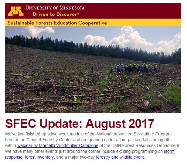 August email update thumbnail