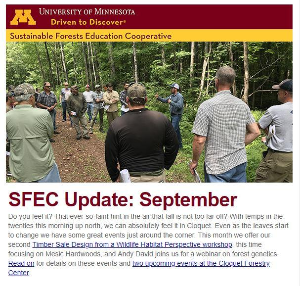 SFEC September Update Thumbnail