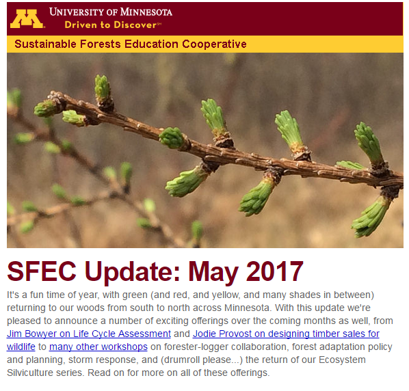 SFEC Update May 2017 Cover