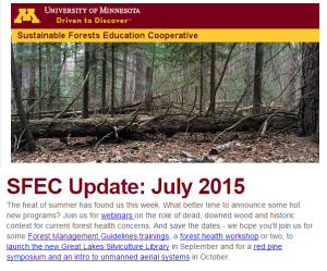 SFEC Update July 2015 screenshot