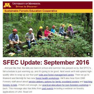 SFEC Update Sep 2016 screenshot