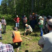 Dan Hanson discussing soils